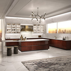 R01 Rosewood | Fitted kitchens | Snaidero USA