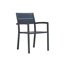 DUO ARMCHAIR | Restaurant chairs | JANUS et Cie