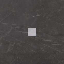 Deluxe | Grey Tozzetto Reflex | Bodenfliesen | Marca Corona