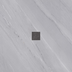 Deluxe | Grey Dark Tozzetto Reflex | Baldosas de cerámica | Marca Corona