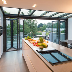 Bi-folding doors | Ecoline | Window types | Solarlux