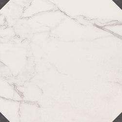 Deluxe | White Dark Tozzetto Reflex | Keramik Fliesen | Marca Corona