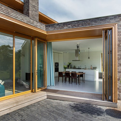 Bi-Folding Door | Woodline | Window systems | Solarlux