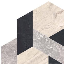 Newluxe Floor | Mod C/2 Ivory | Ceramic panels | Marca Corona