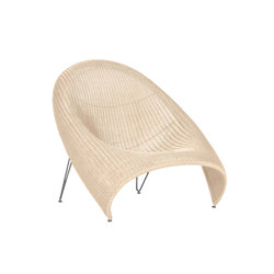 FIBONACCI ANDA RATTAN LOUNGE CHAIR | Lounge chairs | JANUS et Cie
