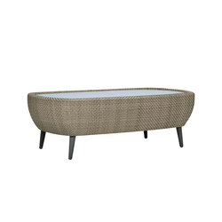 KATACHI GLASS TOP COCKTAIL TABLE RECTANGLE 120 | Coffee tables | JANUS et Cie