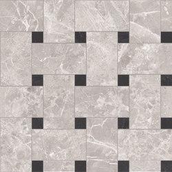 Newluxe Floor | Tessera Treccia Reflex Grey | Ceramic tiles | Marca Corona