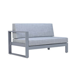 MATISSE MODULE 2 SEAT RIGHT | Modular seating elements | JANUS et Cie