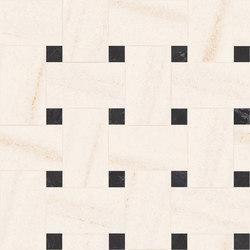 Newluxe Floor | Tessera Treccia Reflex White | Ceramic tiles | Marca Corona