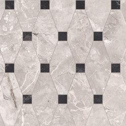 Newluxe Floor | Tessera Losanga Reflex Grey | Ceramic tiles | Marca Corona
