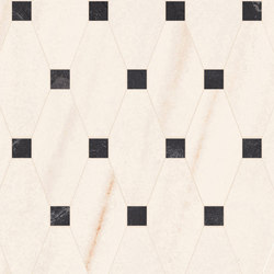 Newluxe Floor | Tessera Losanga Reflex White | Piastrelle ceramica | Marca Corona