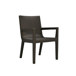 QUINTA FULLY WOVEN ARMCHAIR | Restaurant chairs | JANUS et Cie