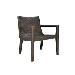 QUINTA FULLY WOVEN LOUNGE CHAIR | Armchairs | JANUS et Cie