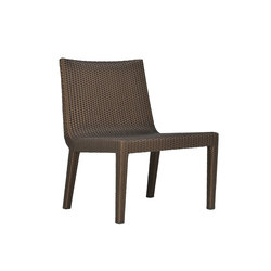 QUINTA FULLY WOVEN LOUNGE SIDE CHAIR | Garden armchairs | JANUS et Cie