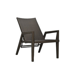 QUINTA FULLY WOVEN RECLINING LOUNGE CHAIR | Sillas | JANUS et Cie