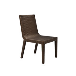 QUINTA FULLY WOVEN SIDE CHAIR | Sedie | JANUS et Cie