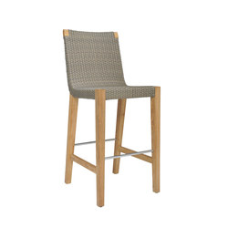 QUINTA TEAK / WOVEN BARSTOOL | Bar stools | JANUS et Cie