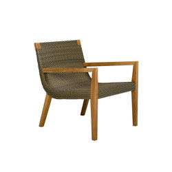 QUINTA TEAK / WOVEN LOUNGE CHAIR | Sessel | JANUS et Cie