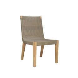 QUINTA TEAK / WOVEN SIDE CHAIR | Sillas | JANUS et Cie