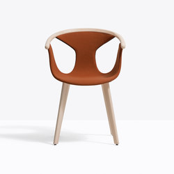 Fox Soft armchair 3723 | Chairs | PEDRALI