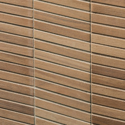 Essences | Walnut Tatami 3D | Ceramic tiles | Marca Corona