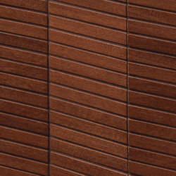 Essences | Mahogany Tatam 3D | Ceramic tiles | Marca Corona