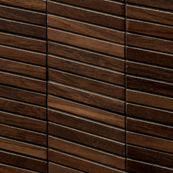 Essences | Iroko Tatami 3D | Ceramic tiles | Marca Corona