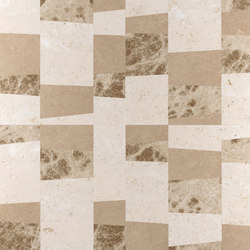 Opus | Piano chantilly | Natural stone panels | Lithos Design