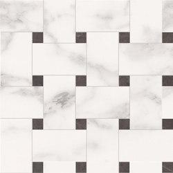 Deluxe | White Tess Treccia | Keramik Fliesen | Marca Corona