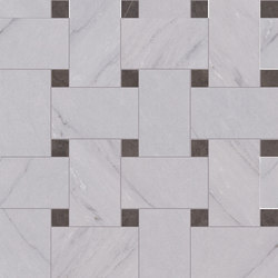 Deluxe | Grey Tess Treccia | Baldosas de cerámica | Marca Corona