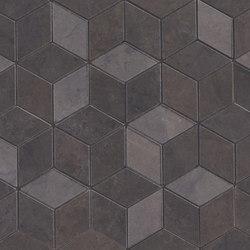 Deluxe | Dark Tessere Rombi | Ceramic tiles | Marca Corona