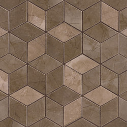 Deluxe | Bronse Tessere Rombi | Ceramic tiles | Marca Corona