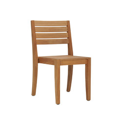 RELAIS STACKING SIDE CHAIR | Restaurant chairs | JANUS et Cie