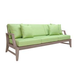RELAIS SOFA 3 SEAT | Garden sofas | JANUS et Cie