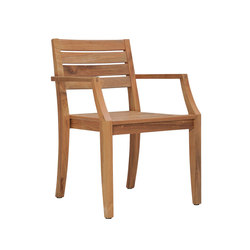 RELAIS STACKING ARMCHAIR | Restaurant chairs | JANUS et Cie