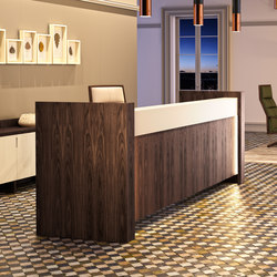Freeport Reception Desk | Banconi | Ofifran