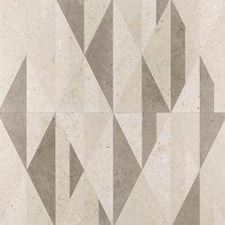 Opus | Tangram anice | Panneaux en pierre naturelle | Lithos Design