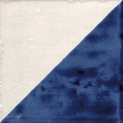 Jolie | Blanc Bleu Triangolo | Ceramic tiles | Marca Corona