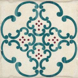 Jolie | Ivoire Petrole Trama S/1 | Ceramic tiles | Marca Corona