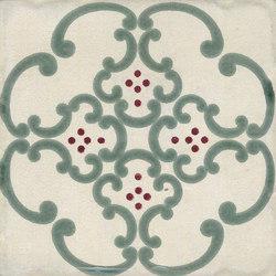 Jolie | Ivoire Vert Trama S/1 | Ceramic tiles | Marca Corona