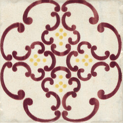 Jolie | Ivoire Purple Tram S/1 | Ceramic tiles | Marca Corona