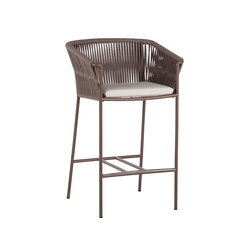 Weave BAR STOOL | Garten-Barhocker | Point