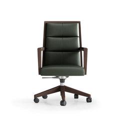 Square ejecutivo ruedas | Task chairs | Ofifran