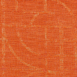 Thangka | Orangeade Sunrise | Upholstery fabrics | Luum Fabrics