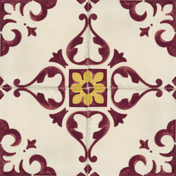 Jolie | Ivoire Purple Trama C/4 | Ceramic tiles | Marca Corona