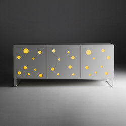 Polka Dots Full White | Credenze | CASAMANIA-HORM.IT