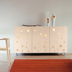 Polka Dots Full White | Sideboards | CASAMANIA-HORM.IT