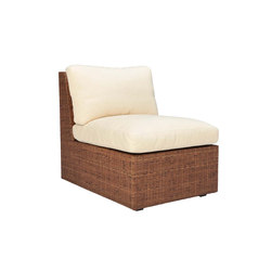 SEE! RATTAN CLOSED MODULE CENTER | Modular seating elements | JANUS et Cie