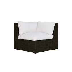 SEE! RATTAN CLOSED MODULE CORNER | Modular seating elements | JANUS et Cie