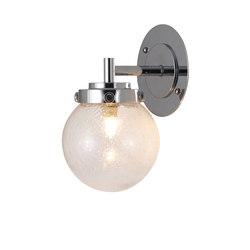 Mini Globe Wall Light, Seedy with Chrome | Wall lights | Original BTC